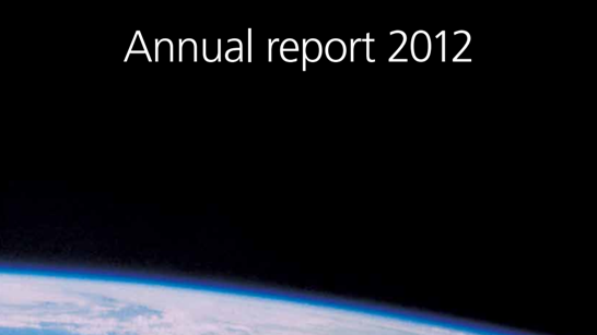 NNE Annual report 2012