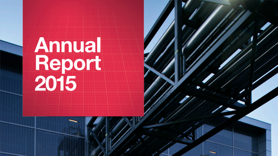 NNE Annual report 2015