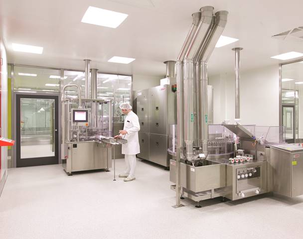 Sterile production plant awarded for operational excellence